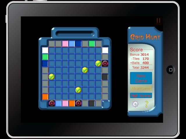 Grid Hunt Screen Shot